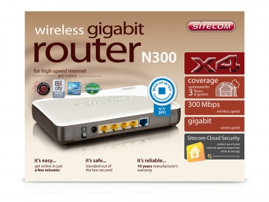 Drivers: Sitecom WLR-1000 V2-001 Wi-Fi Router