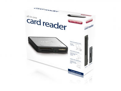 Sitecom MD-020 V1-001 All-in-one Card Reader XP