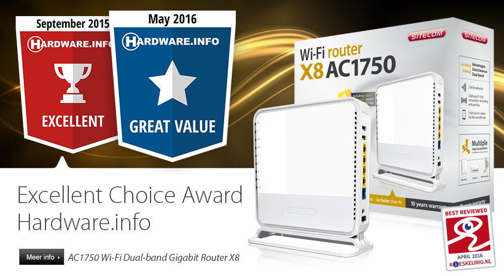 WLR8100 - Excellent Choice Award HWI
