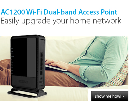 AC1200 Wi-Fi Dual-band Access Point | WLX-7000